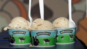 <> the Ben & Jerry's and Bonnaroo - new flavor party at Bowery Ballroom on April 19, 2010 in New York City.